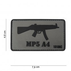 Patch 3D PVC MP5 A4