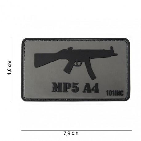 """Patch 3D PVC """"MP5 A4"""" avec velcro, 101 Inc"""