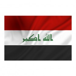 "Drapeau ""Iraq"", 101 Inc"