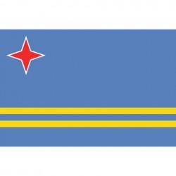 "Drapeau ""Aruba"", 101 Inc"