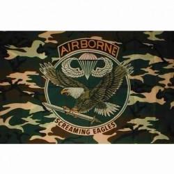 "Drapeau ""Airborne"" camouflage, 101 Inc"
