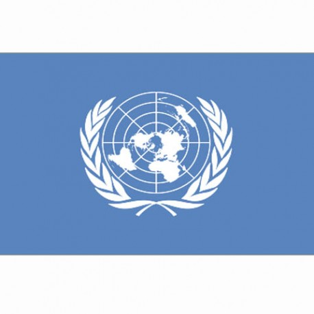 """Drapeau """"UN"""", 101 Inc"""