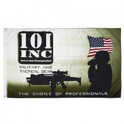 "Drapeau ""101 Inc militaire"", 101 Inc"