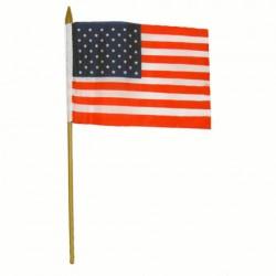 """Drapeau de bureau, """"USA"""", 101 Inc"""