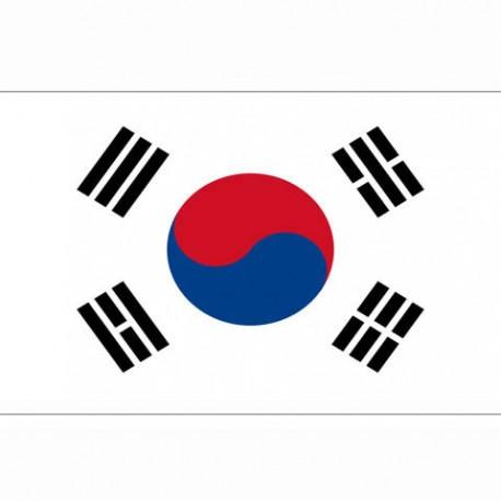 "Drapeau ""Corée du sud"", 101 Inc"