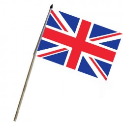 "Drapeau à bâton ""UK"", 101 Inc"