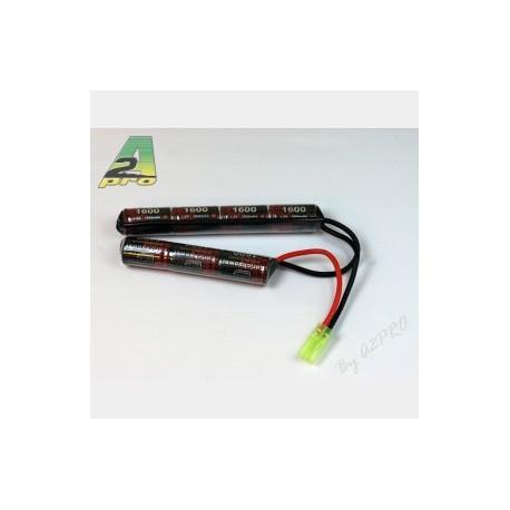 Batterie Ni-Mh 2 bâtons 8,4 V - 1600 mAh   A2 Pro
