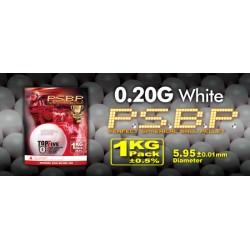 Billes airsoft Perfect 0.20 gramme en sachet de 1 kg de la marque G&G