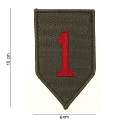 Patch tissus Red one