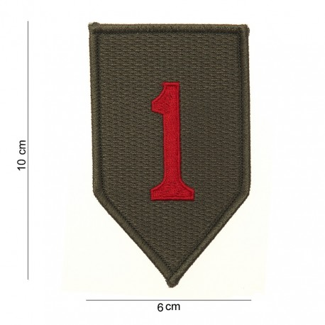 """Patch tissus """"Red one"""", 101 Inc"""