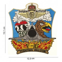 """Patch tissus """"Belgian airforce F-16"""", 101 Inc"""