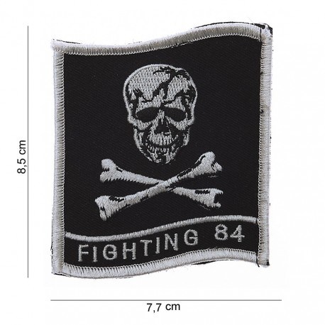 """Patch tissus """"Fighting 84"""", 101 Inc"""