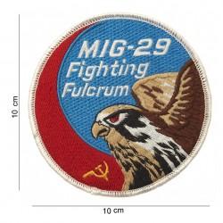 """Patch tissus """"MIG-29 fighting fulcrum"""", 101 Inc"""