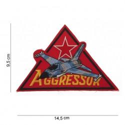 """Patch tissus """"Aggressor"""", 101 Inc"""