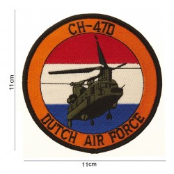 "Patch tissus ""CH-47D Dutch airforce"", 101 Inc"