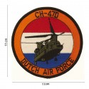 "Patch tissus ""CH-47D Dutch airforce"", 101 Inc"