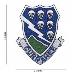 "Patch tissus ""Currahee 506th PIR"", 101 Inc"