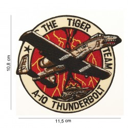 """Patch tissus """"The tiger team A-10 thunderbolt"""", 101 Inc"""