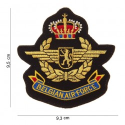 """Patch tissus """"Belgian airforce"""", 101 Inc"""