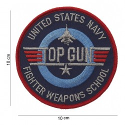 "Patch tissus ""Top Gun fighter weapons school"", 101 Inc"
