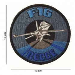 """Patch tissus """"F-16 regge"""", 101 Inc"""