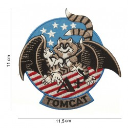 """Patch tissus """"Tomcat holding up hand"""", 101 Inc"""