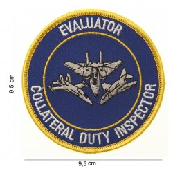 """Patch tissus """"Collateral duty inspector"""", 101 Inc"""
