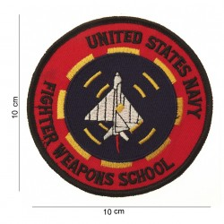 """Patch tissus """"United States navy fighter weapons school"""", 101 Inc"""