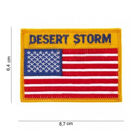 Patch tissu USA Desert storm de la marque 101 Inc (442304-608)