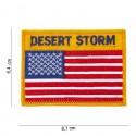 Patch tissu USA Desert storm