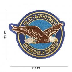 Patch tissu Pratt & Whitney depandable engines de la marque 101 Inc (442306-839)