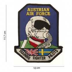 "Patch tissus ""Austrian airforce training fighter pilots"", 101 Inc"