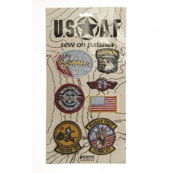 "Patch tissus ""USAF"", 101 Inc"