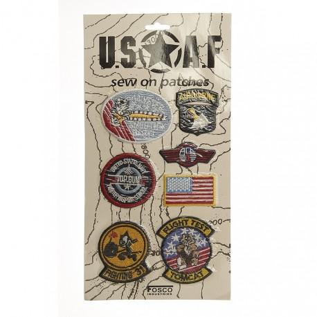 "Patch tissus ""USAF"", 101 Inc"
