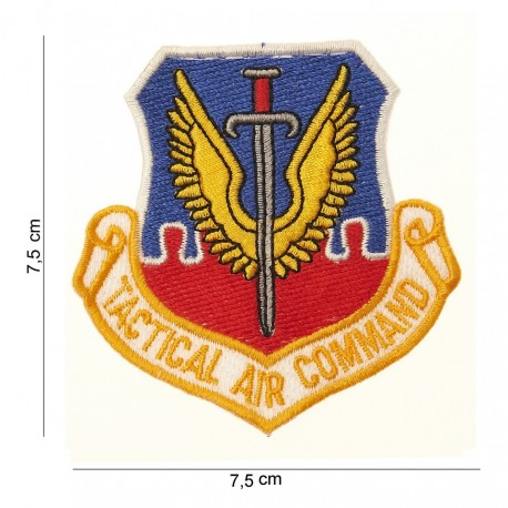 "Patch tissus ""Tactical air command"", 101 Inc"