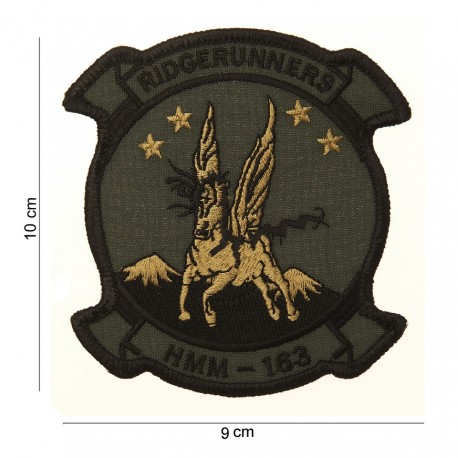"Patch tissus ""HMM-143"", 101 Inc"
