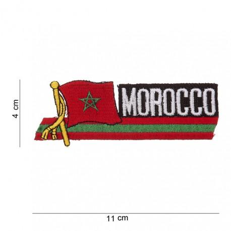 """Patch tissus """"Maroc"""", 101 Inc"""