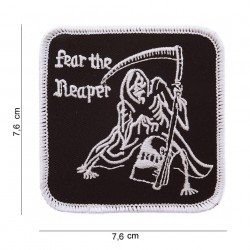 """Patch tissus """"Feat the heaper"""", 101 Inc"""