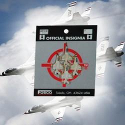 "Badge ""Thunderbird demonstration team"", 101 Inc"