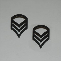 "Badge ""US"" noir, 101 Inc"