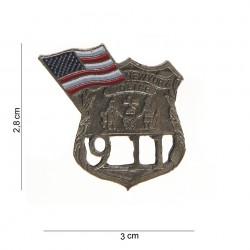 "Badge ""New York police"", 101 Inc"