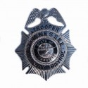 Badge Trooper Tennessee high way patrol silver