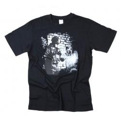 "T-shirt ""Soldier skull"" noir, 101 Inc"