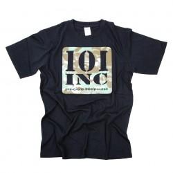 """T-shirt """"101 Inc camouflage"""" noir, 101 Inc"""