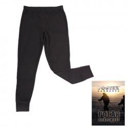 Pantalon thermique polaire noir, Fostex