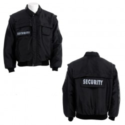 "Veste ""Security"" noir, 101 Inc"
