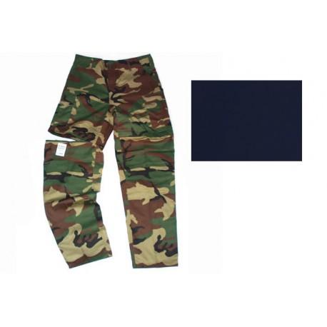 Pantalon à zip - Différents coloris et camouflages, 101 Inc
