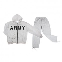 "Survêtement ""Army"" gris 