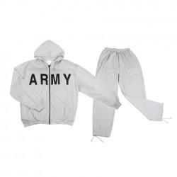 """Survêtement """"Army"""" gris   101 Inc"""