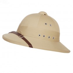 "Casque de decoration ""Colonial"" tan 